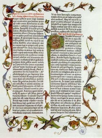 GUTEMBERG IMPRIME LA BIBLIA