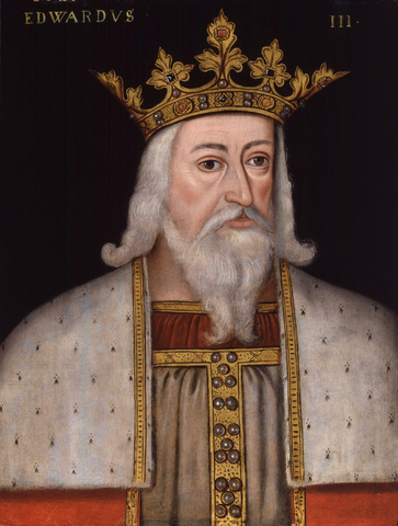 Edward III publicly assumes the title.