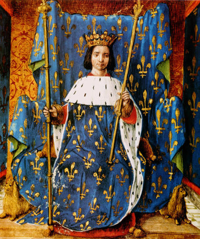 Charles VI, king of France,
