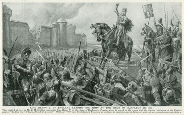 Henry V captures the French stronghold