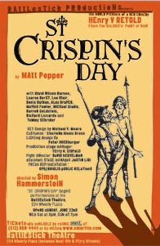 Henry V wins a victory on St Crispin's day