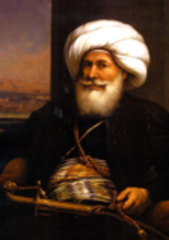 Muhammed Ali tries to form an independent kingdon in Egypt (Politic) Ottoman Empire