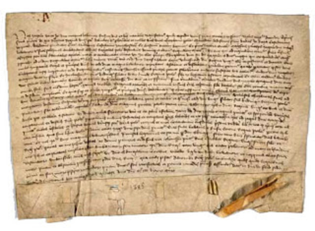 The treaty of Troyes