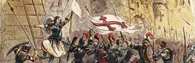 Joan of Arc leads French