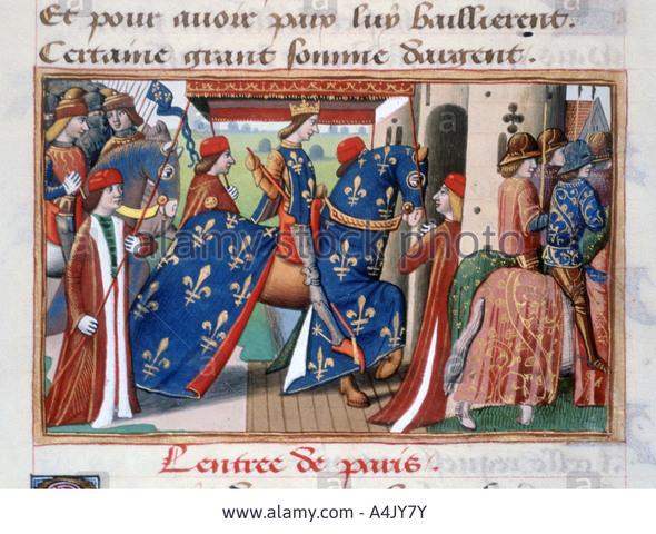 Charles VII enters Paris