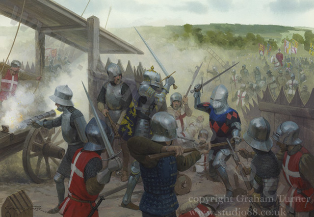 The French win a convincing victory at Castillon