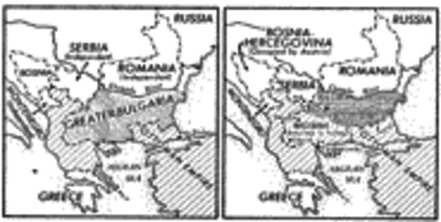 San Stefano Treaty (Political) Ottoman Empire