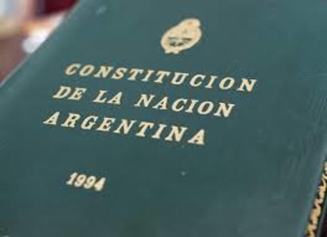 social:se aprueba la últimareforma de la Constitución Argentina