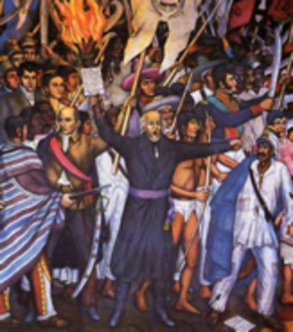 """""""The Cry of Dolores"""" (Political) Mexico"""