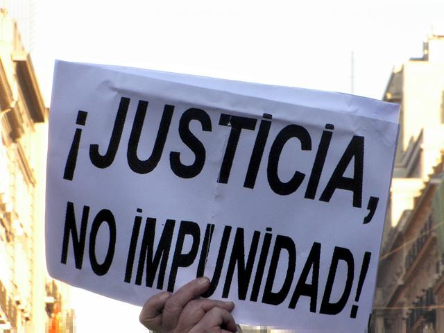 social:año atravesado por la lucha contra la impunidad