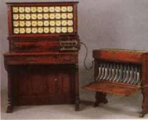 "Herman Hollerith ""Máquina de Censos"""