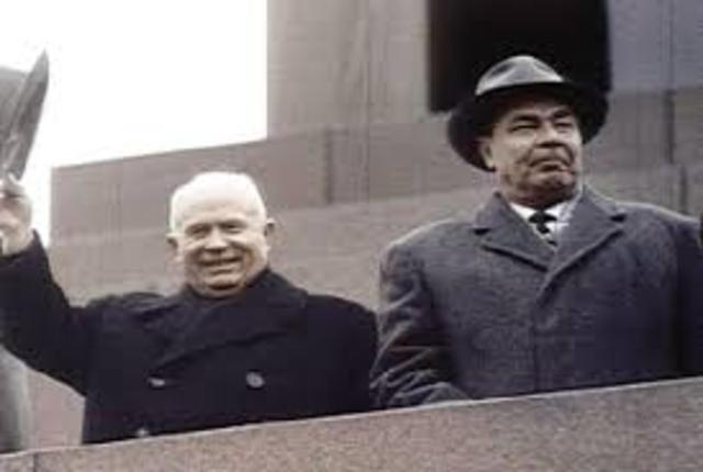 Kruschev es destituído por Breznev