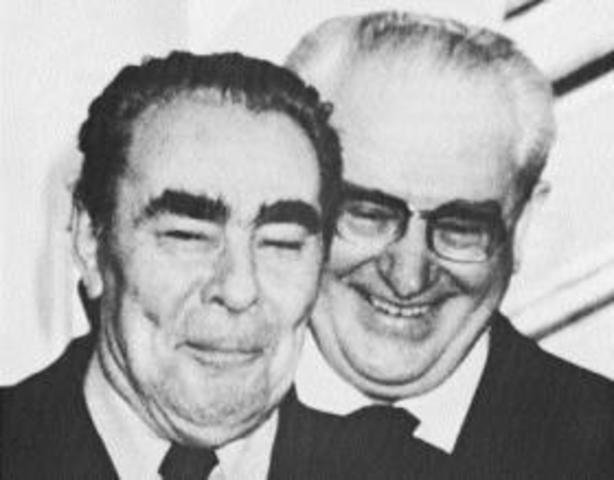 Muerte de Breshnev