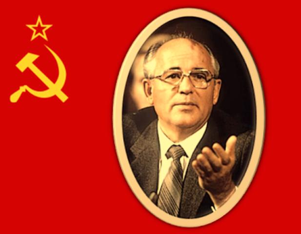 Asume Gorbachov en la U.R.S.S.