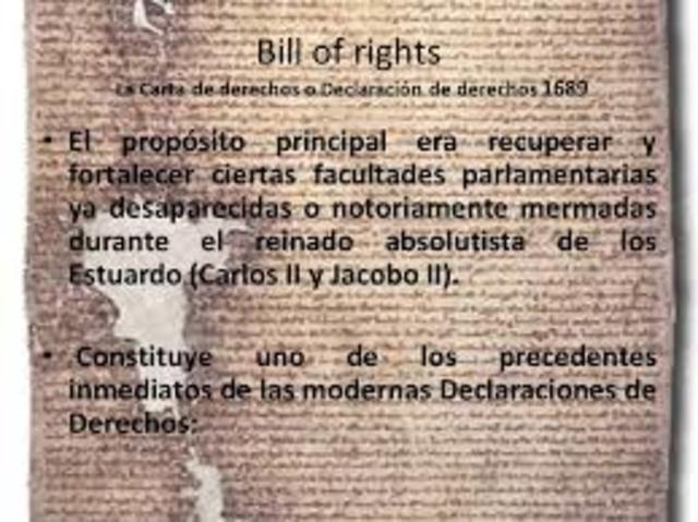 La carta de petición (petition of Right)