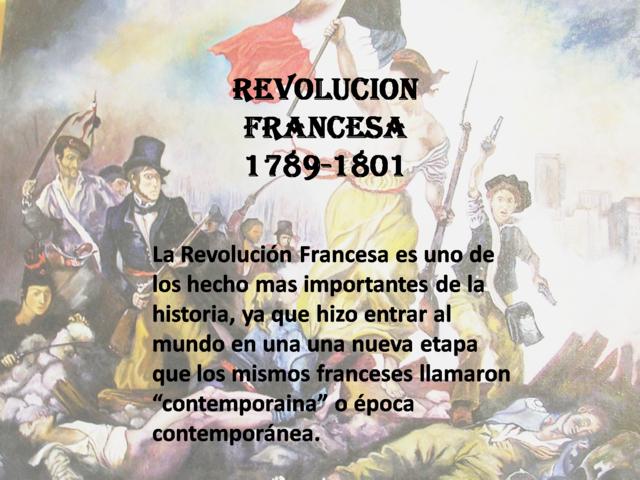 La revolución Francesa (Francia)
