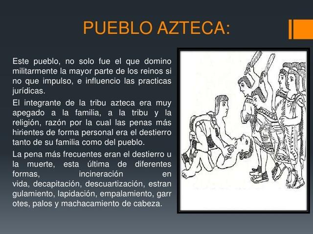 Derecho Azteca