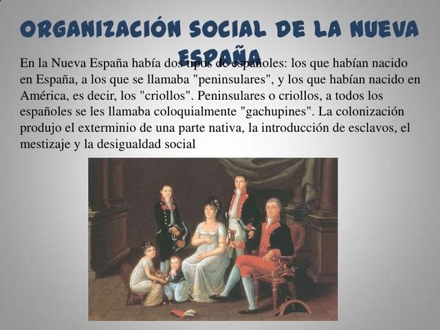 Clases Sociales (nueva España)