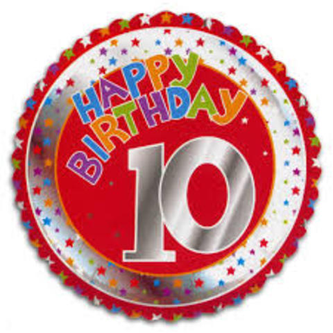 My 10th Birthday