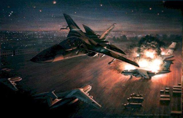 Ataques de E.E.U.U. a Libia