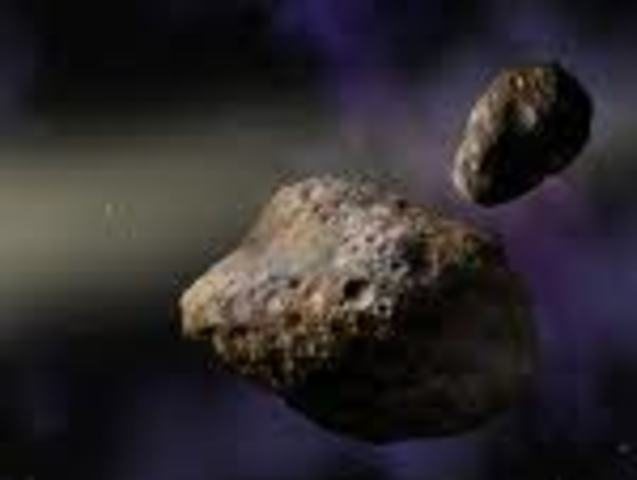 First Asteroid Flyby