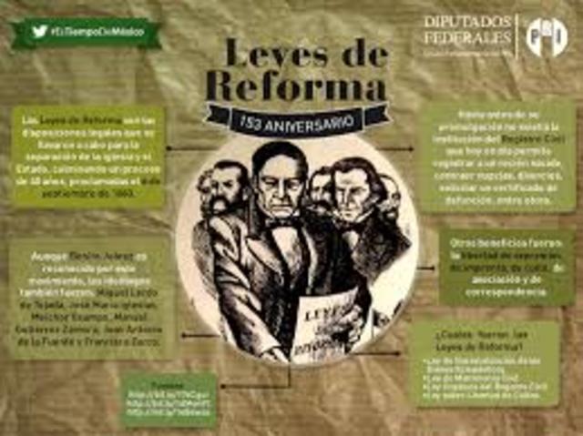 Leyes de Reforma,