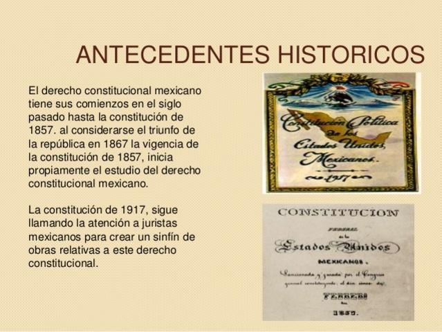 Constitución de 1917 (antecedentes)