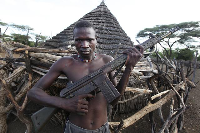South Sudan Civil War Begins