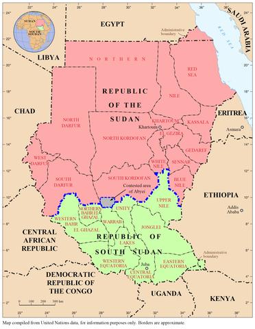 Temporary peace in Sudan