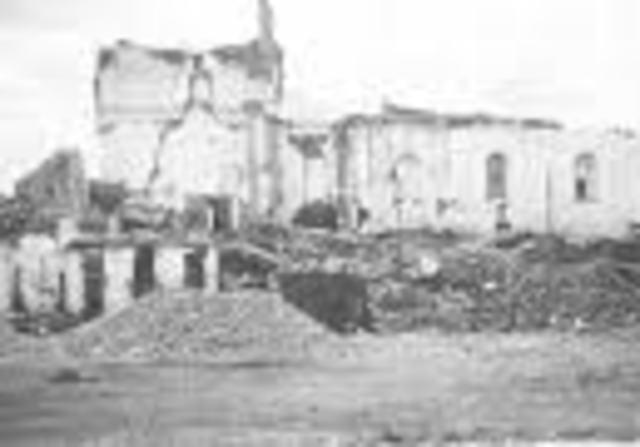 Terremoto en Popayan