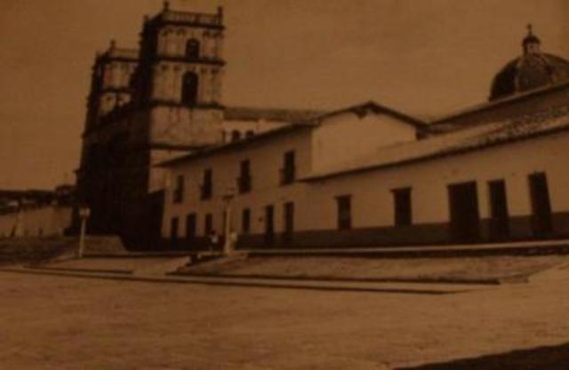 Creación de la parroquia de Barichara