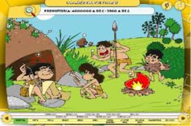 Actividad sobre el Paleolítico
