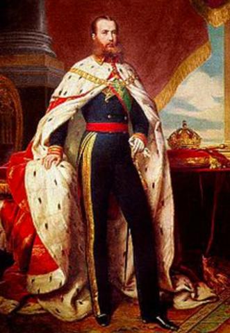 Maximilian is named emperor. (Political) Mexico