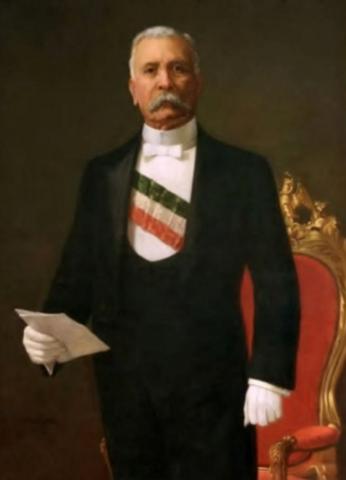 Porfirio Díaz is named president (Political) Mexico