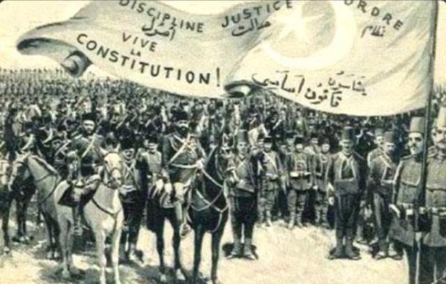 Young Turks revolt (Political) Ottoman Empire