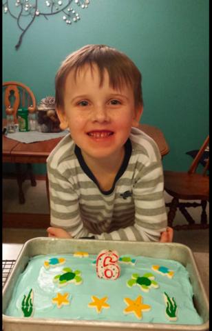 Grant's 6th Birthday