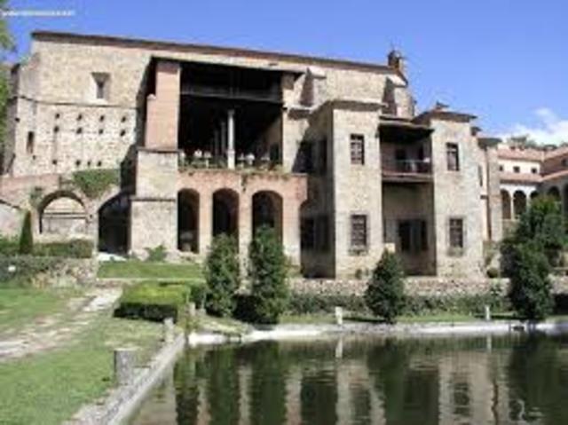 Muere Carlos I de España y Carlos V de Alemania en el Monasterio de Yuste