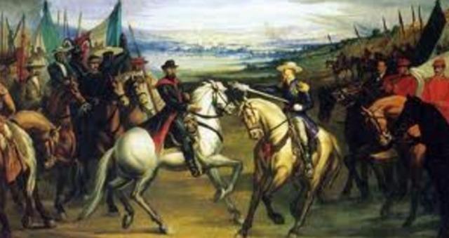 The Reform War (Political) Mexico