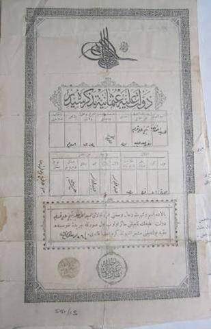 Establishment of the Commerce and Trade Code (Economical) Ottoman Empire