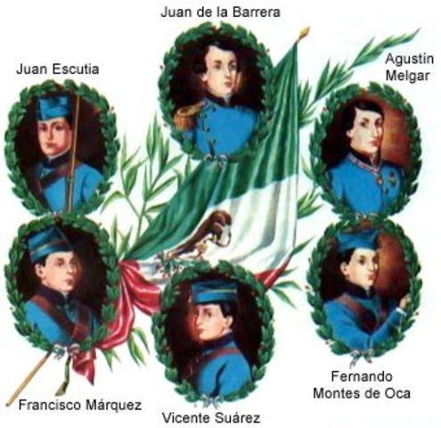The Niños Heroes died in Chapultepec Castle