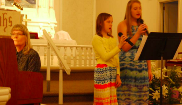 My First Singing Experience