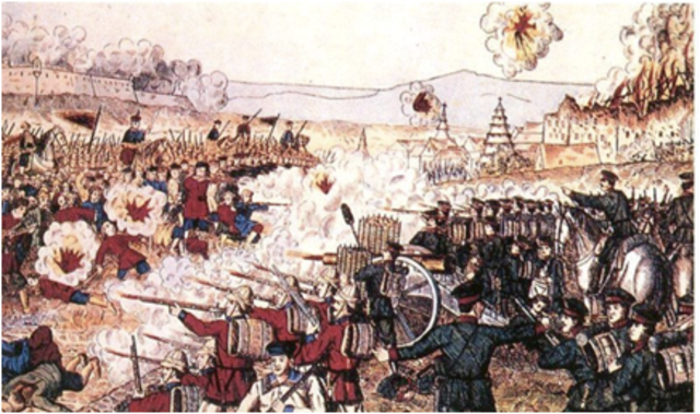 Opium War (2nd Partial Timeline)
