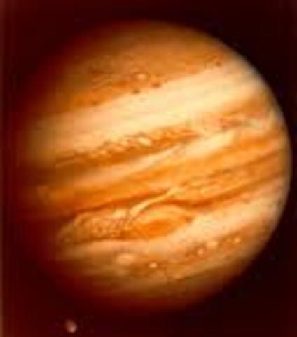 First Jupiter Flyby