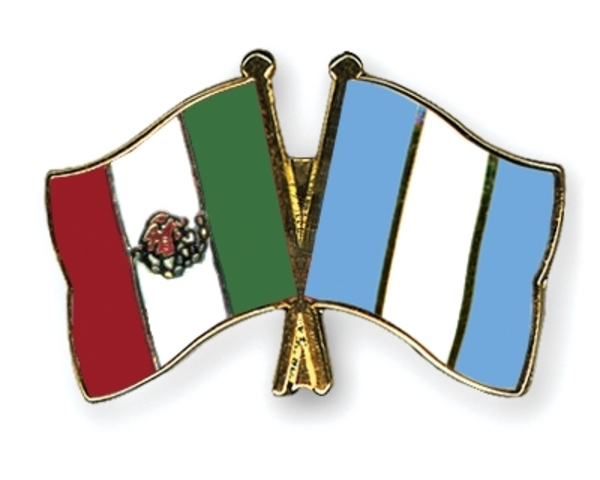 Mexico & Guatemala establish borders.