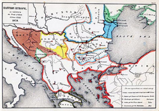 Treaty of Berlin (Political) Ottoman Empire