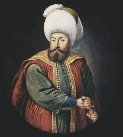 Osman I built a strong military (Economic) Ottoman Empire
