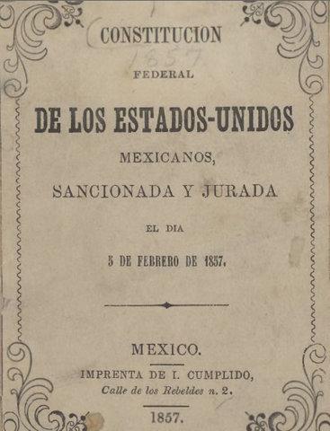 Federal Constitution (Economic) Mexico