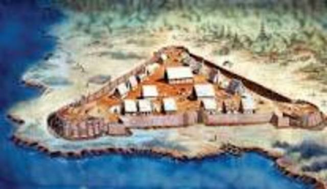 People arrive in Jamestown
