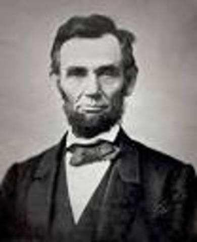 Abraham Lincoln was born