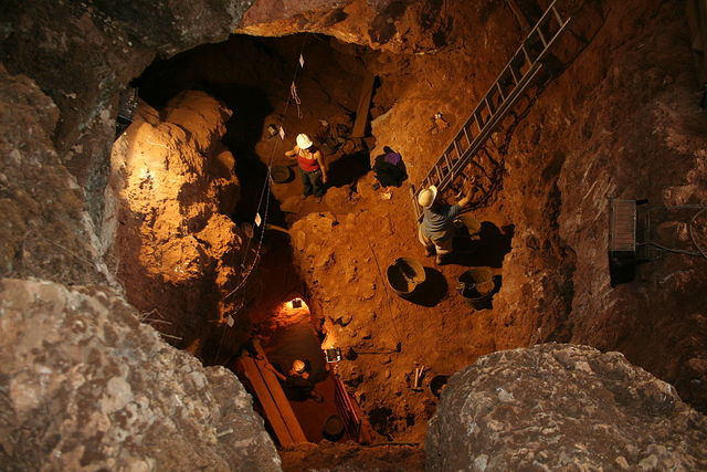 Cueva se Santa Ana --Paleolítico inferior